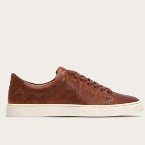 Frye Ivy Low Lace Cognac Sneaker Size 8M